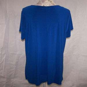 88b63e90f90 Diana Belle Tops - Diana Belle Shirt Womens Plus 1X Studded Cut Out
